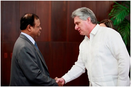 Sri lanka assured unequivocal support by cuban leaders ministry of sri lanka assured unequivocal support by cuban leaders m4hsunfo