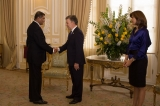 AMBASSADOR GENERAL JAGATH JAYASURIYA PRESENTED CREDENTIALS TO H.E. THE PRESIDENT OF COLOMBIA ON 16TH FEBRUARY 2017