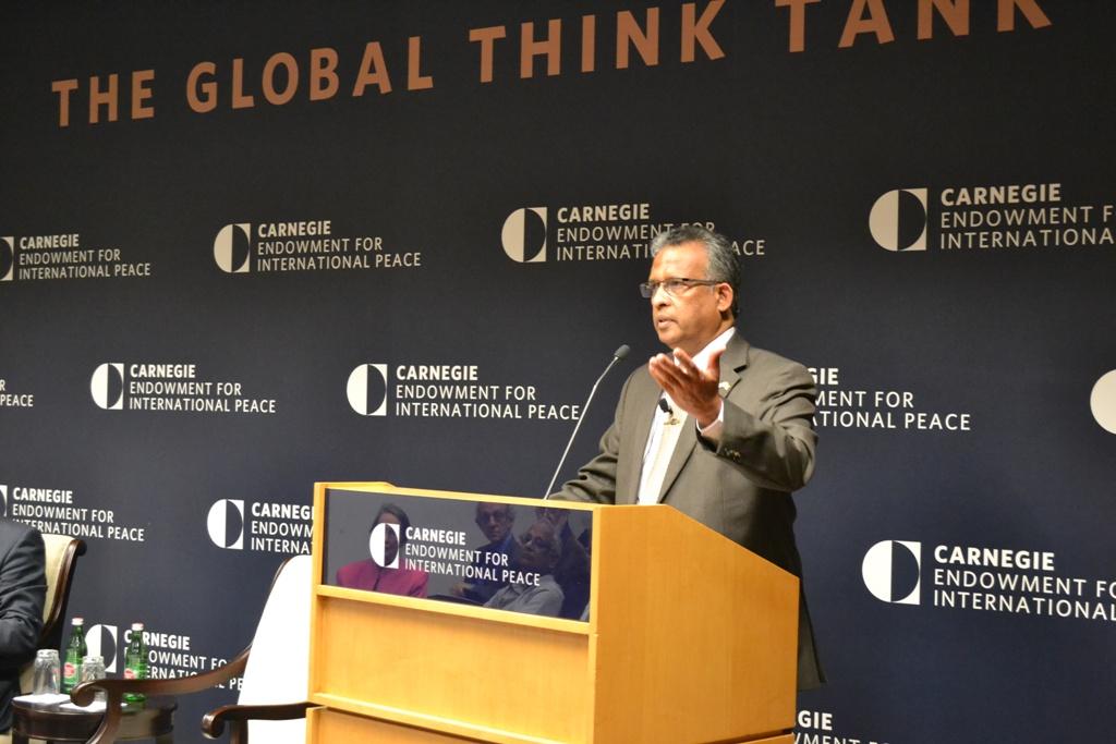 Ambassador Kariyawasam Speaks At Carnegie Endowment For