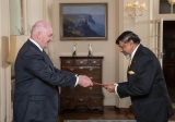 New High Commissioner presents credentials