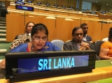 "Minister Bandara tells UN - ""Women co-architects of Sri Lanka's  post-independence welfare state"""