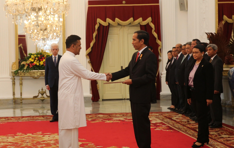 Ambassador Of Sri Lanka To Indonesia Presents Credentials To