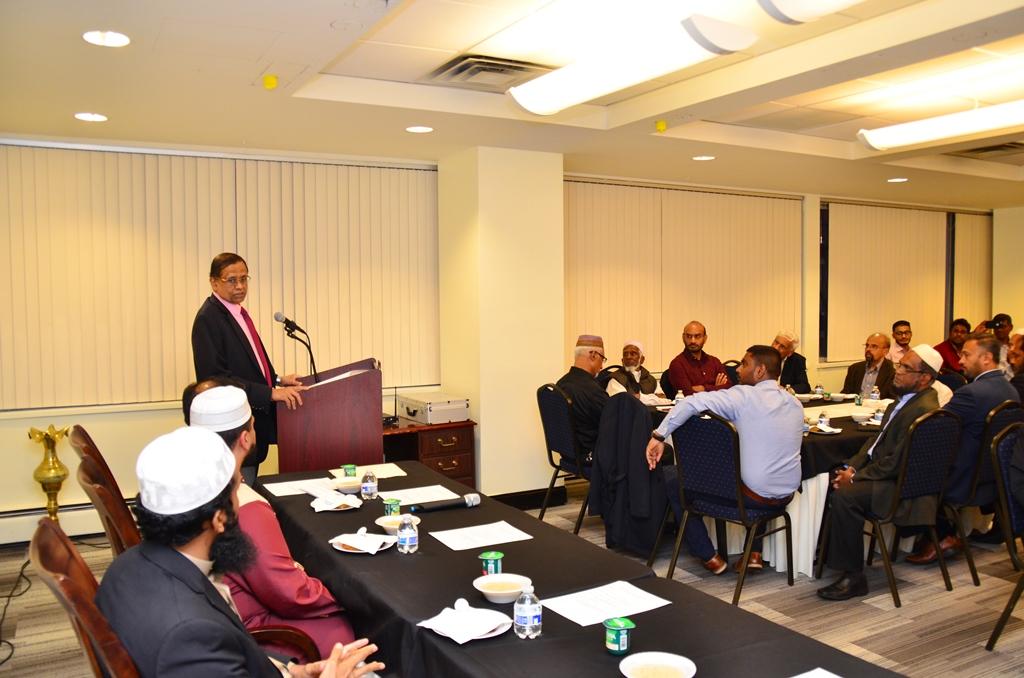 Sri Lanka Mission hosts Iftar event for SL Community in Tri