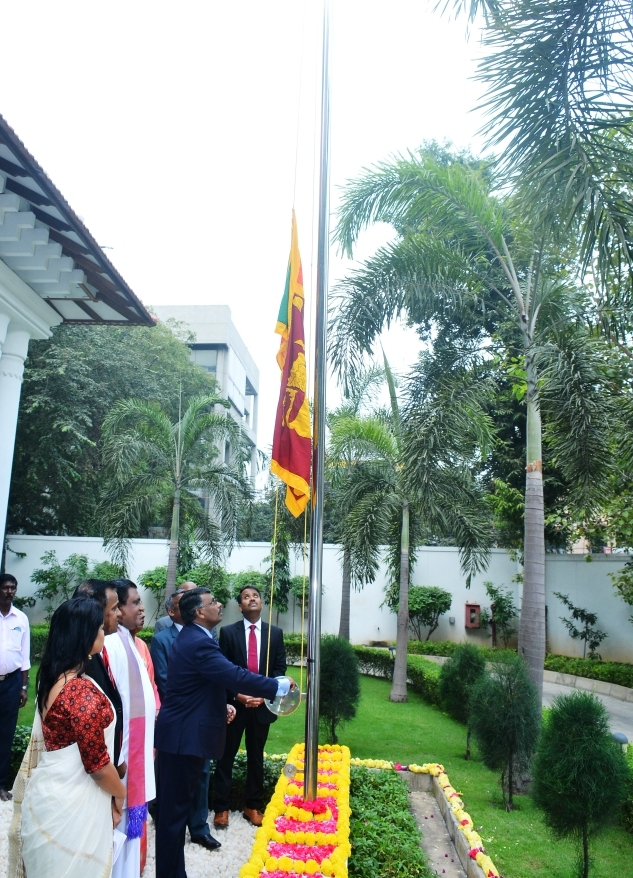 SRI LANKA DEPUTY HIGH COMMISSION IN CHENNAI CELEBRATES THE