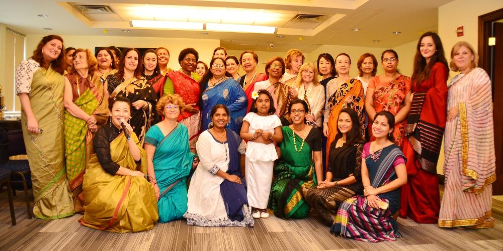 A Sri Lankan Saree Extravaganza In New York City Foreign Ministry Sri Lanka