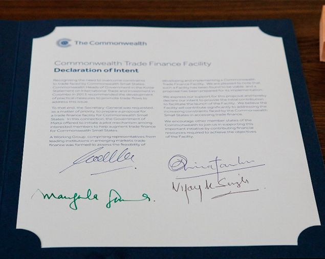 Foreign Minister Samaraweera Signs Agreement For Creation Of