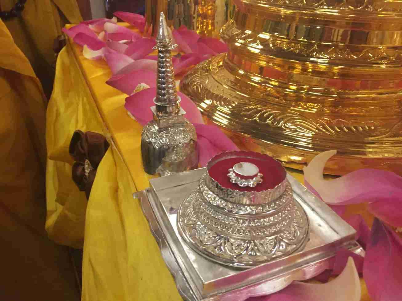 Image 01- Sacred Relic of Lord Buddha