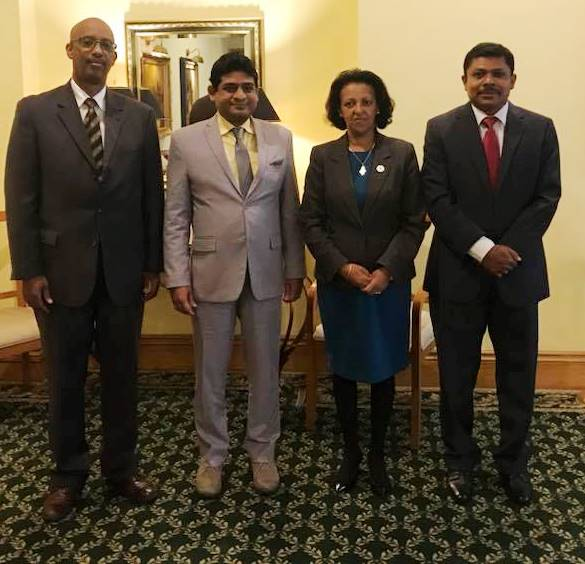 Image 1-Meeting with Hirut Zemene State Minister of Foreign Affairs of Ethiopia