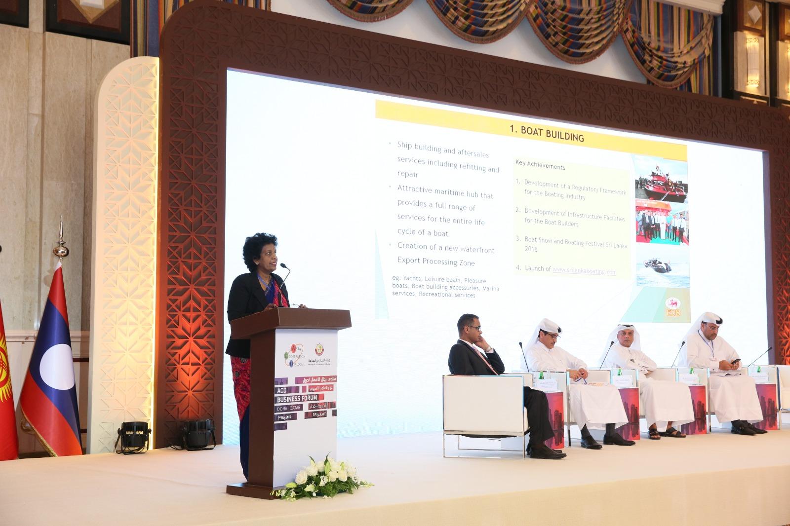 3. DG-EDB addressing the Business forum