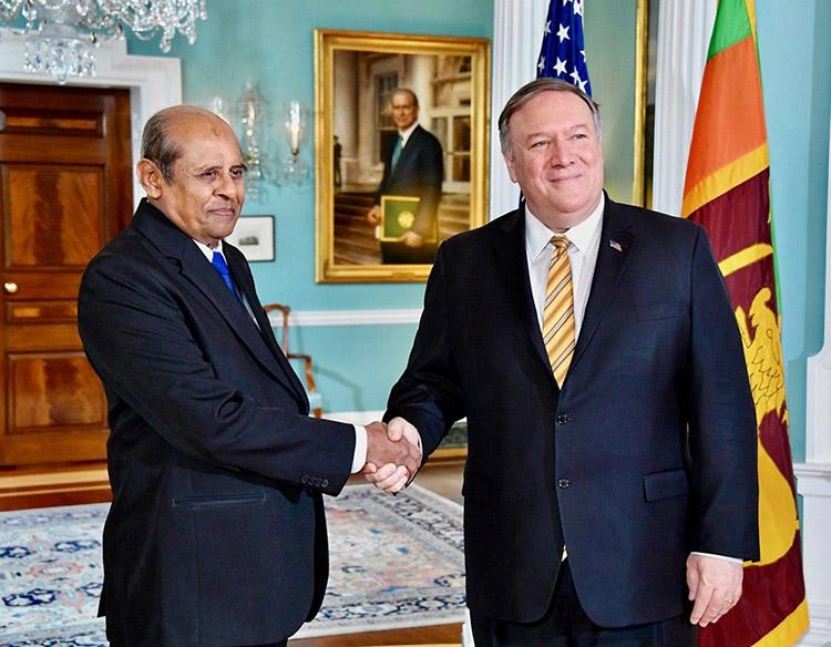 Hon. MFA with U.S. Secretary of State Michael R Pompeo