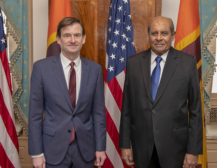 Hon. MFA with U.S. Under Secretary of State for Political Affairs David Hale