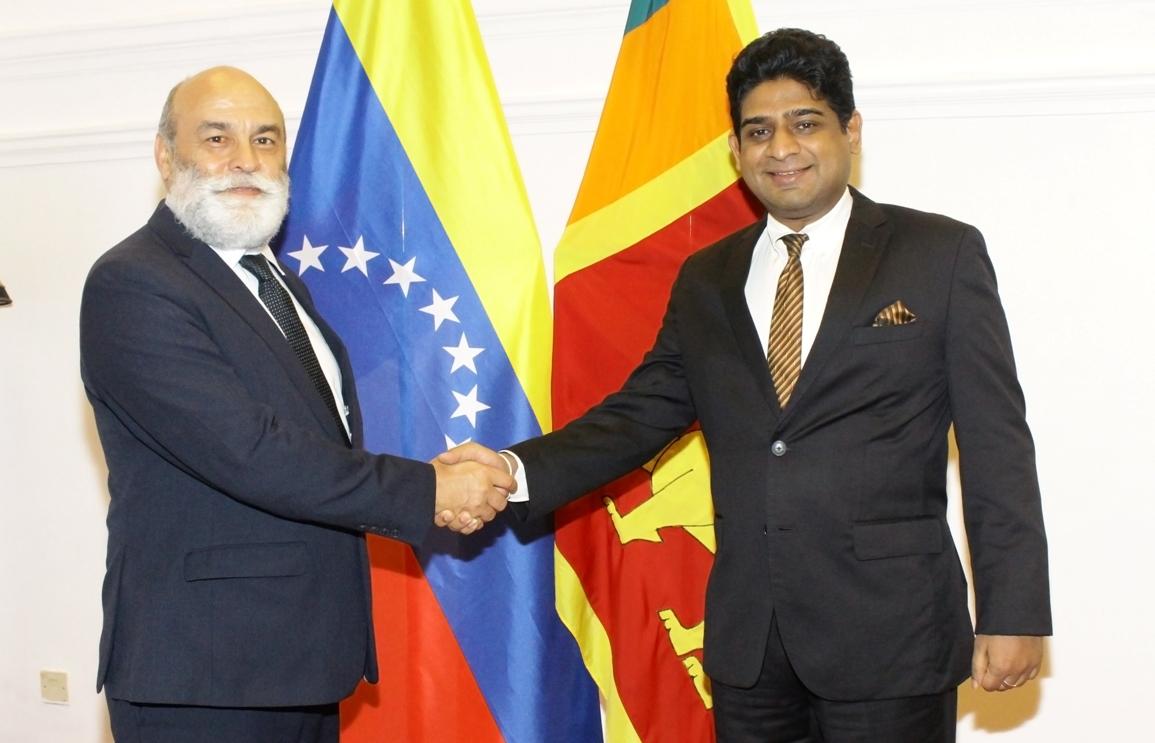 SRI LANKA AND VENEZUELA AGREE TO FORGE CLOSER BILATERAL TIES