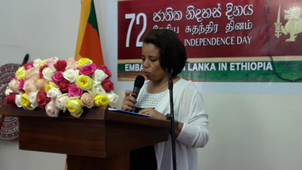 Mahlet Hailu speech